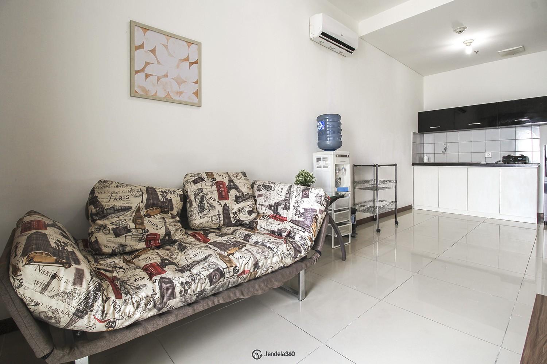 Living Room Apartemen Condominium Green Bay Pluit SeaView