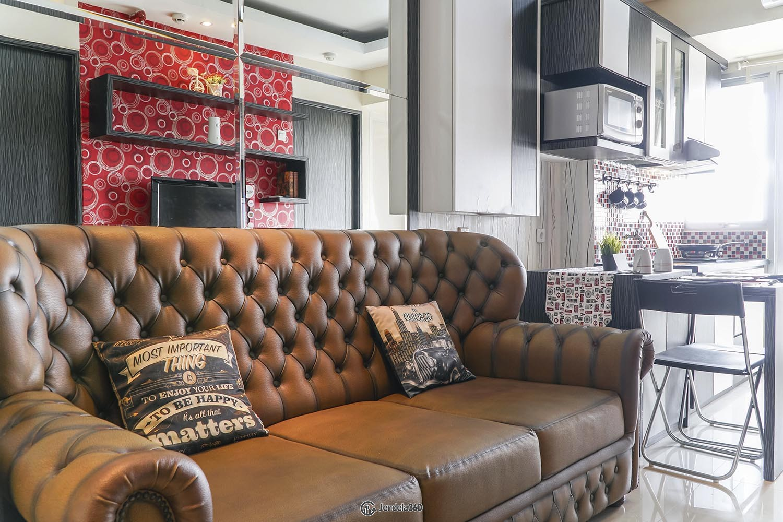Living Room Bintaro Park View Apartment