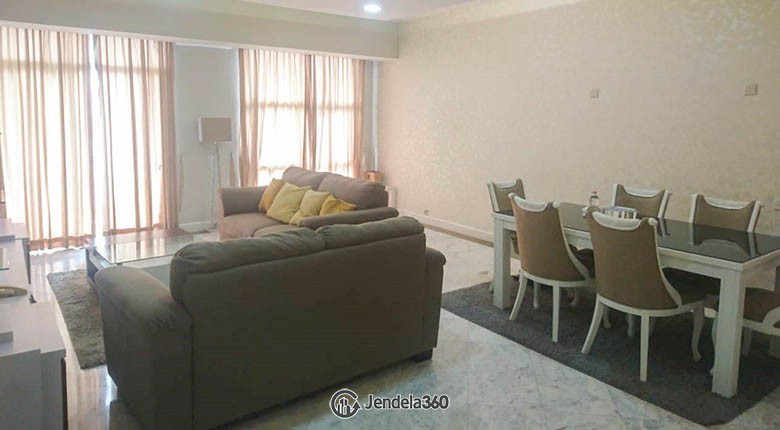Living Room Apartemen Menteng Executive Apartment