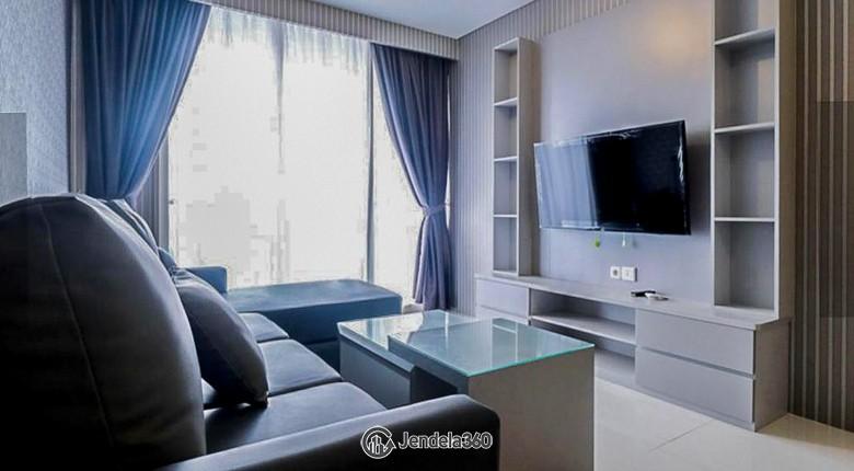 Living Room Apartemen Lexington Residences