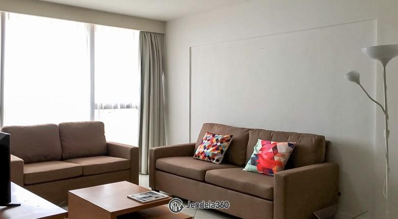 Living Room Taman Rasuna Apartment Apartment