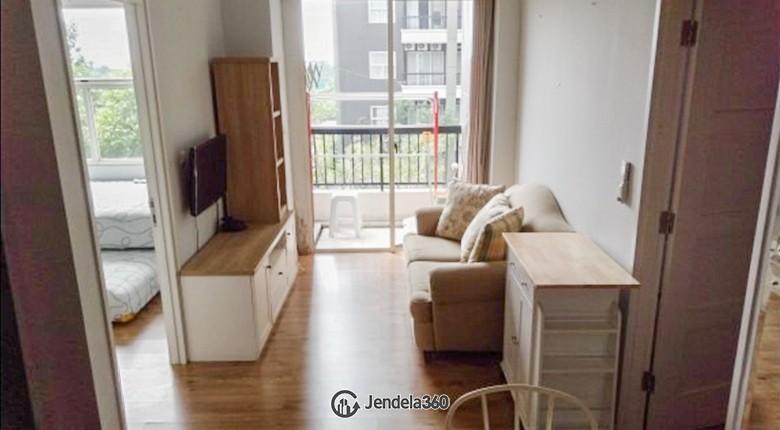 Living Room Apartemen Silkwood Residence