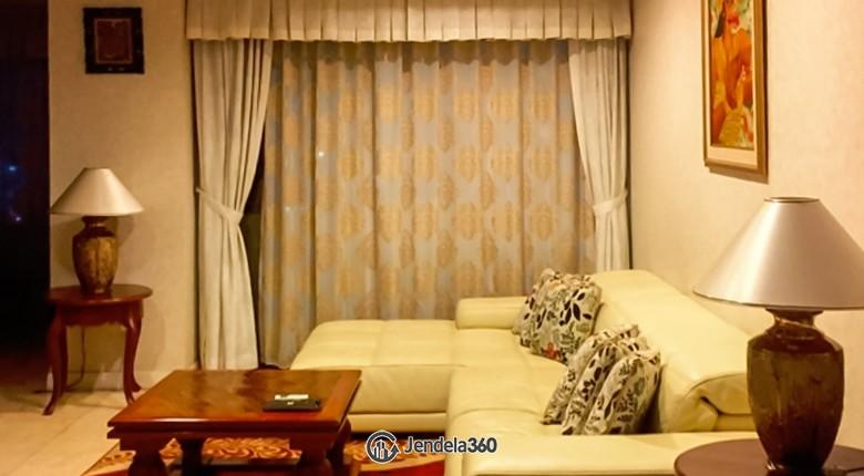 Living Room Apartemen Istana Sahid Apartment