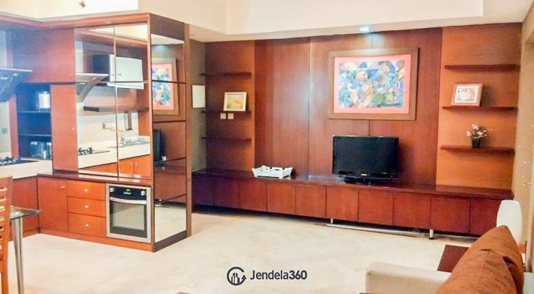 Living Room Apartemen Bellagio Residence