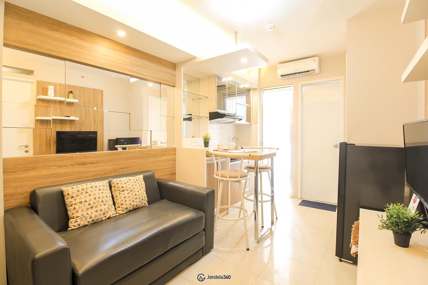 Living Room Apartemen Bassura City Apartment