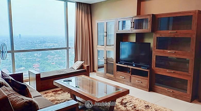 Living Room Kemang Village Apartment Apartment