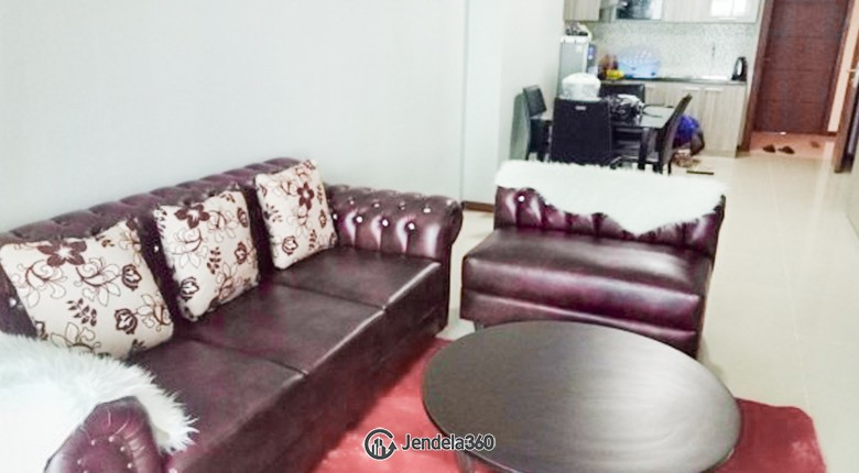 Living Room Apartemen Condominium Green Bay Pluit SeaView