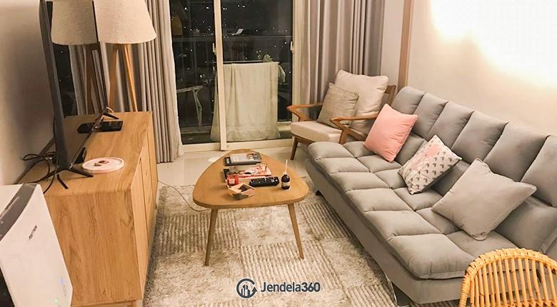 Living Room Apartemen Lexington Residence
