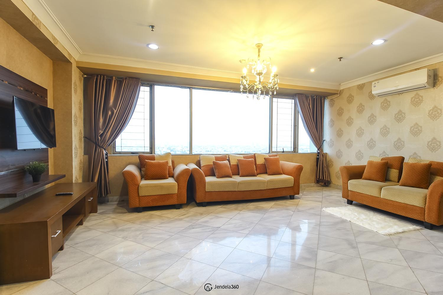 Living Room Mitra Oasis Residence