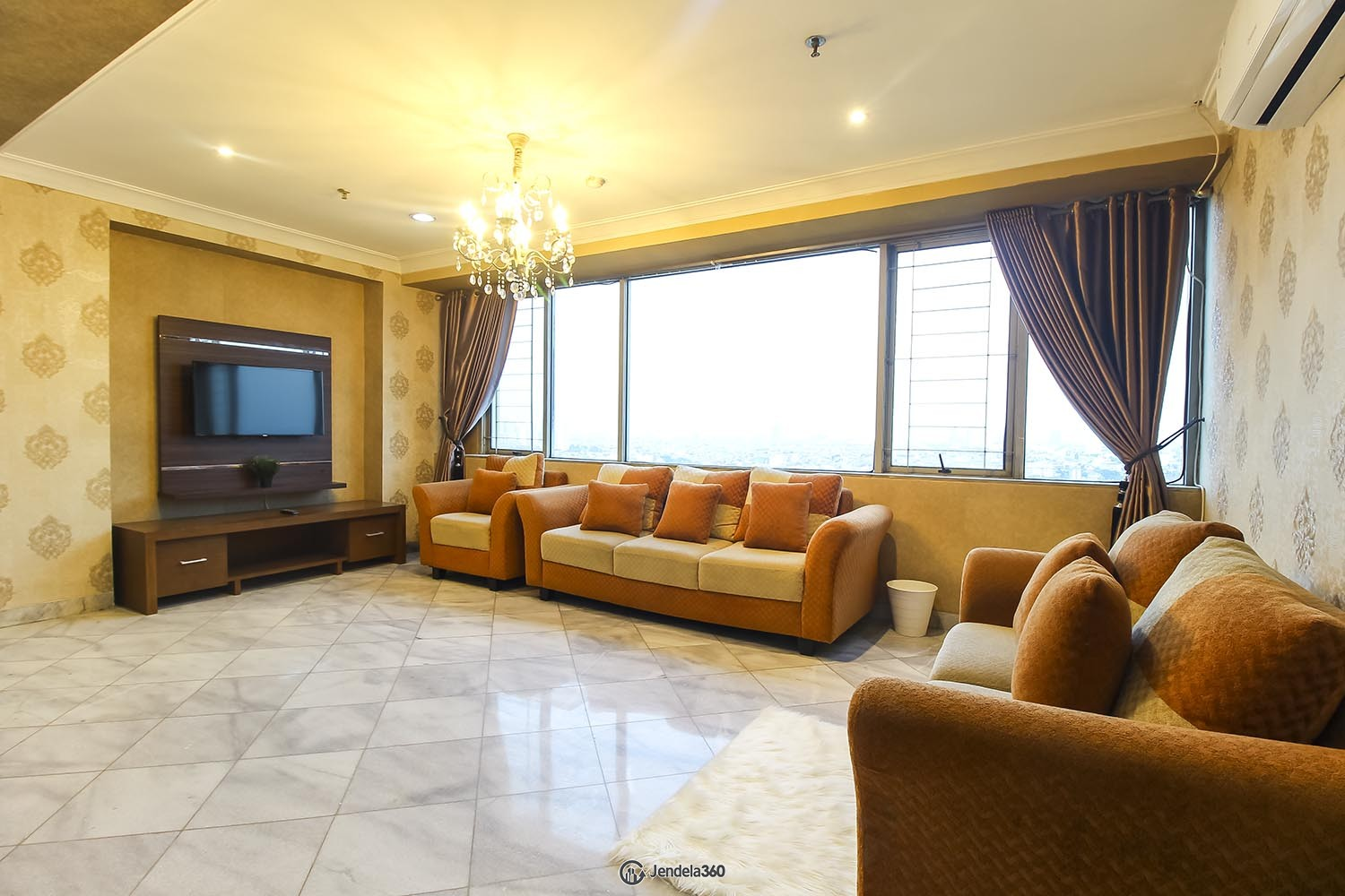 Living Room Mitra Oasis Residence Apartment