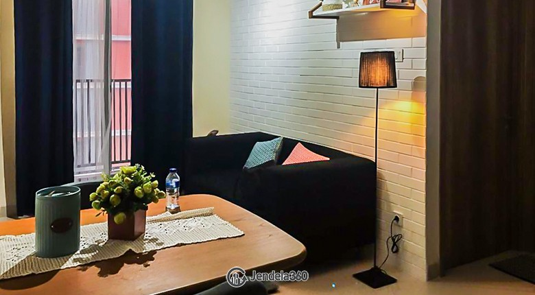 Living Room Apartemen Pejaten Park Residence