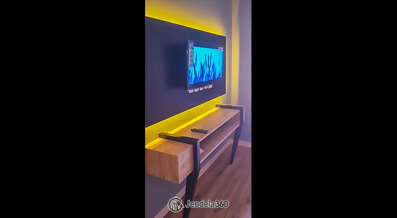 Living Room The Springlake Summarecon Apartment