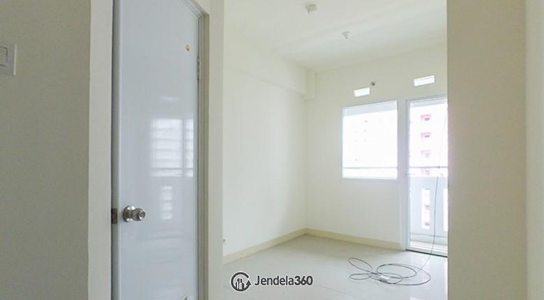 Living Room Green Pramuka City Apartment Apartment