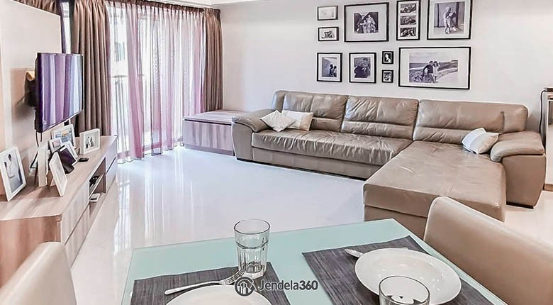 Living Room Sudirman Tower Condominium (Aryaduta Suites Semanggi) Apartment