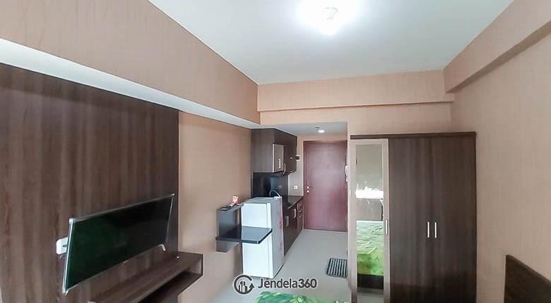 Living Room Apartemen Tamansari Mahogany Apartment