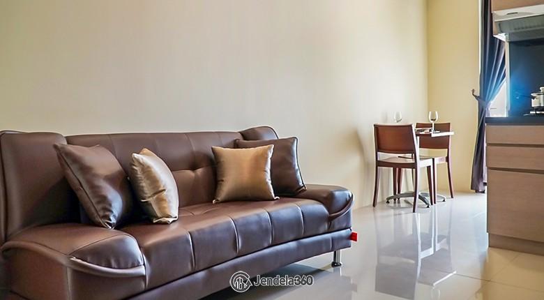 Living Room Apartemen Bandara City Apartment