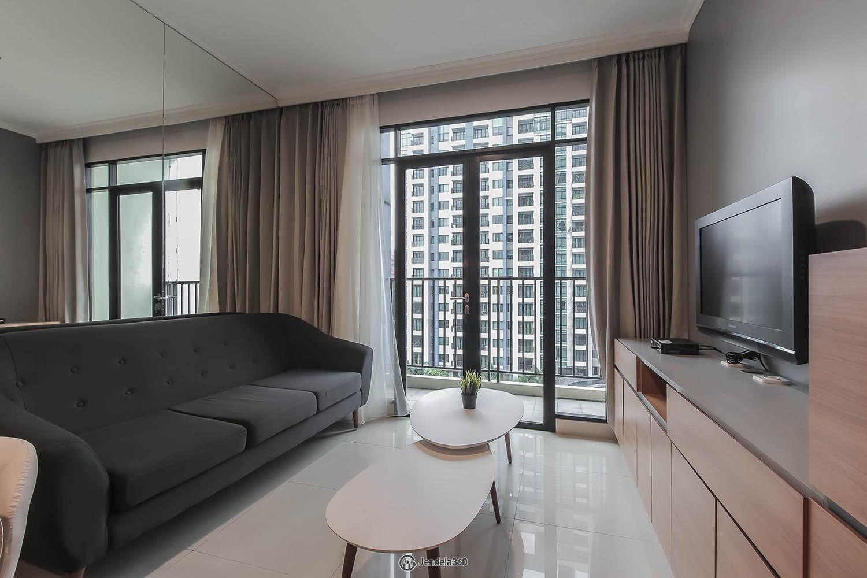 Living Room Hamptons Park Apartment