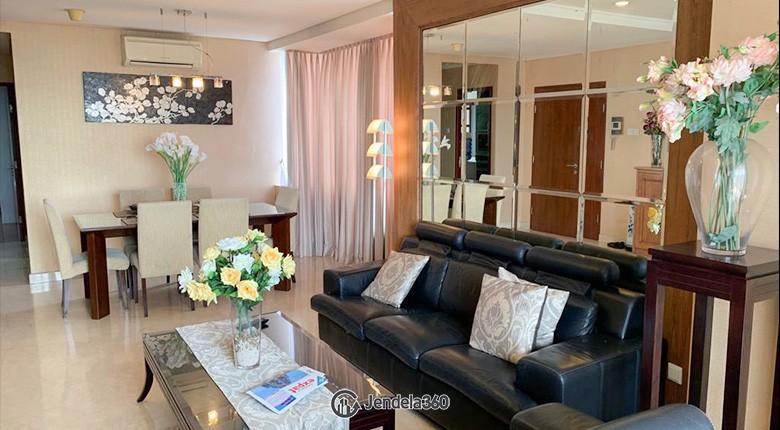 Living Room Permata Hijau Residence Apartment