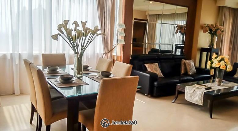 Living Room Apartemen Permata Hijau Residence