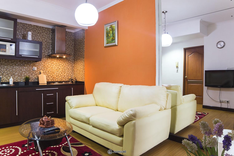 Living Room Apartemen Mediterania Palace Kemayoran
