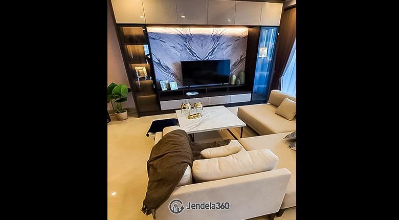 Living Room Apartemen District 8