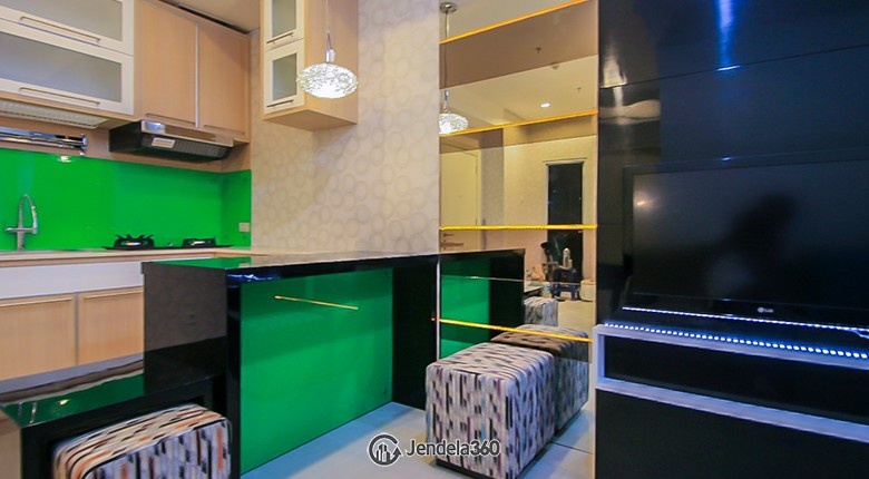 Living Room Cosmo Terrace - Thamrin City Apartment