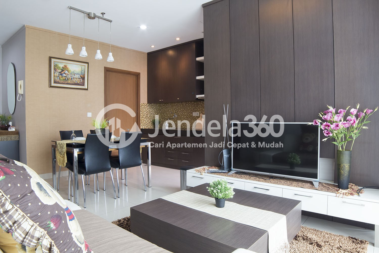 Living Room Sahid Sudirman Residence