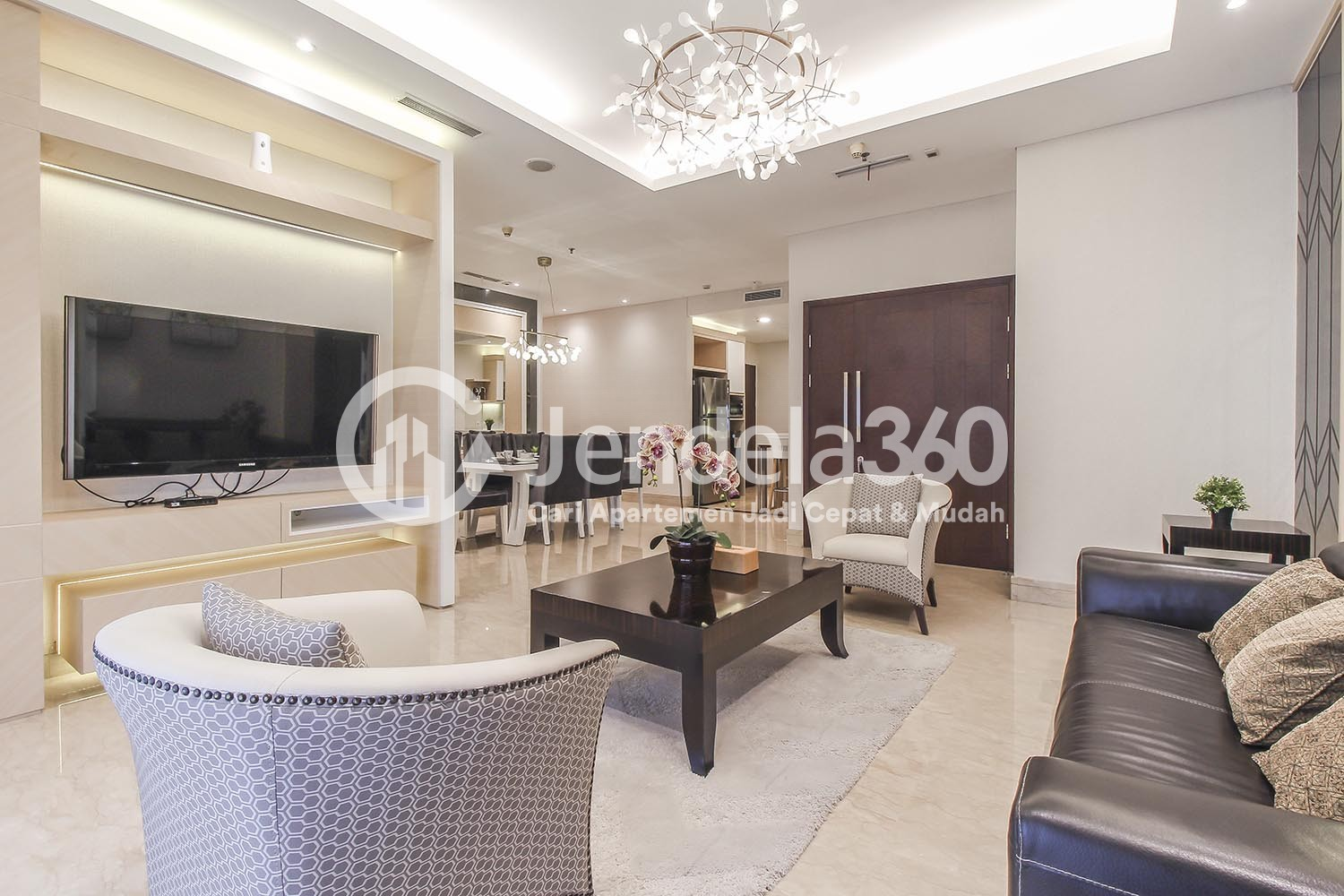 Living Room The Capital Residences Apartment