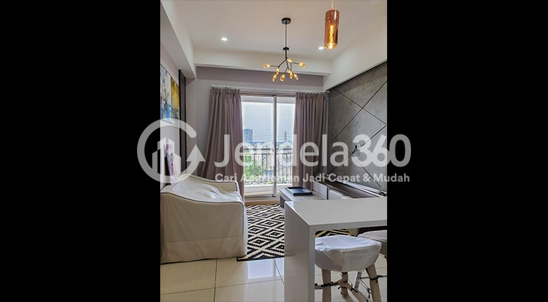 Living Room Apartemen M-Town Signature Serpong