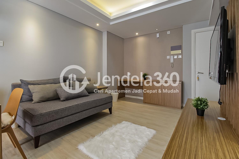 Living Room Apartemen Metro Park Residence