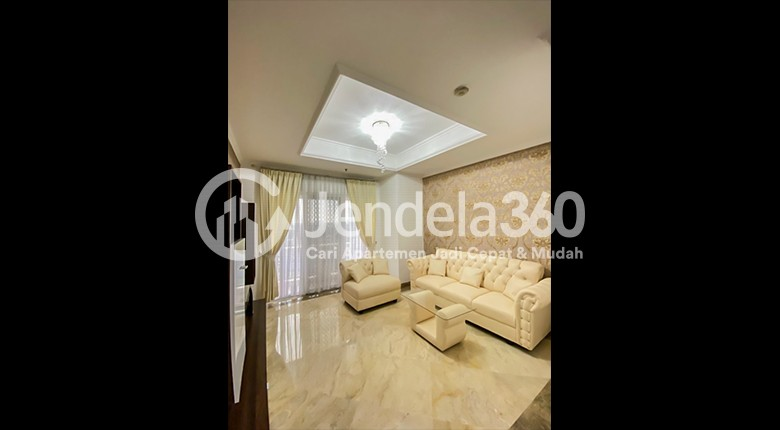 Living Room Apartemen Kedoya Elok Apartment