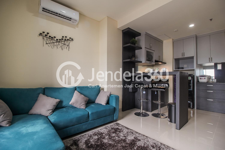 Living Room Pejaten Park Residence