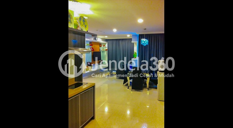 Living Room Apartemen Ancol Mansion Apartment