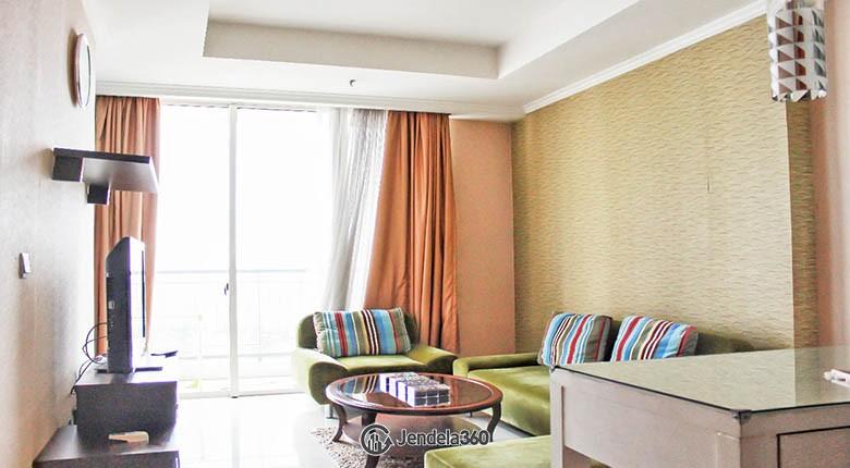 livingroom Ancol Mansion Apartment