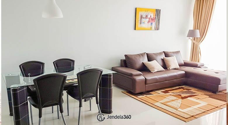 livingroom Apartemen Lexington Residences