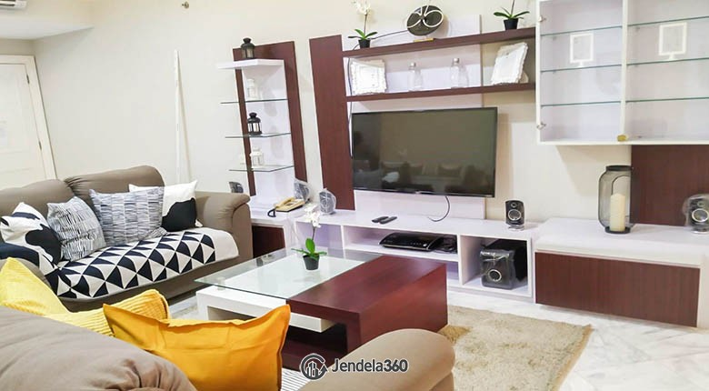 livingroom Apartemen Menteng Executive Apartment
