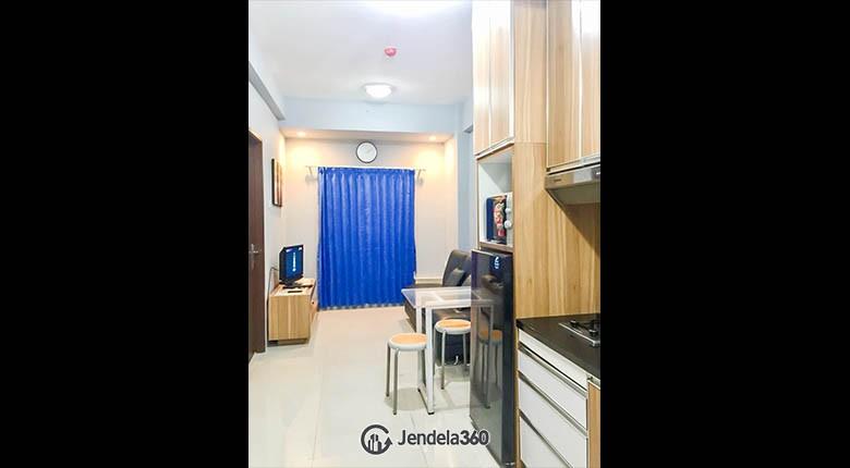 livingroom Apartemen Puri Park View Apartment