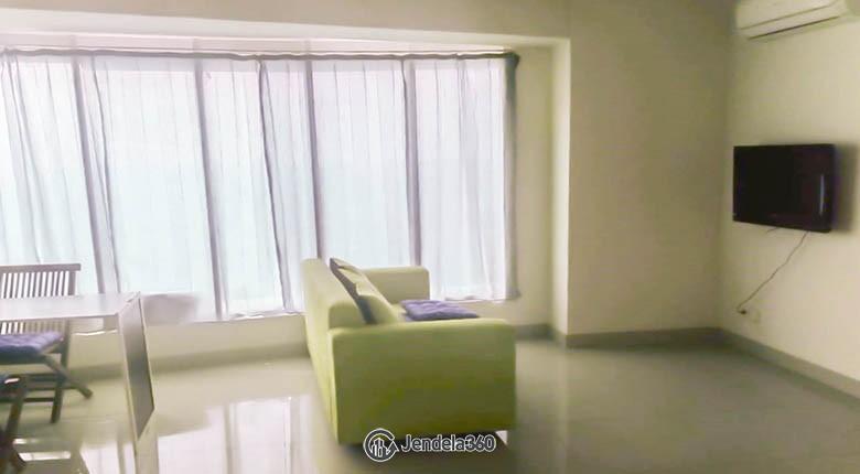 livingroom Apartemen Grand Kamala Lagoon Apartment