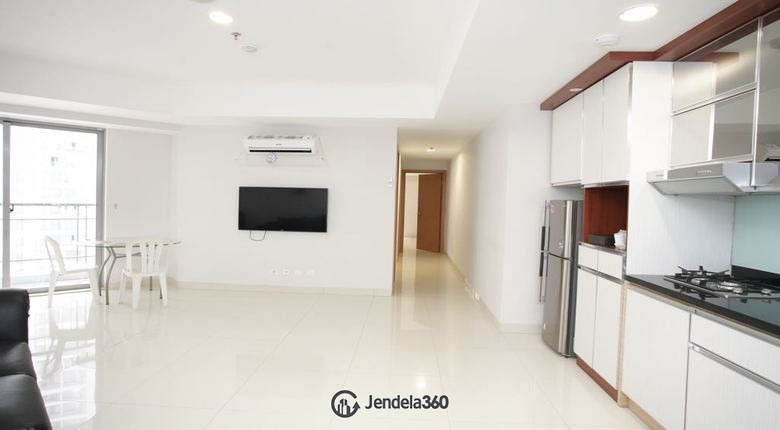 livingroom Apartemen The Mansion Kemayoran Jasmine