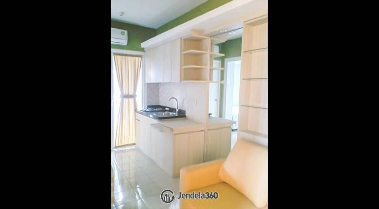 livingroom Apartemen Green Pramuka City Apartment