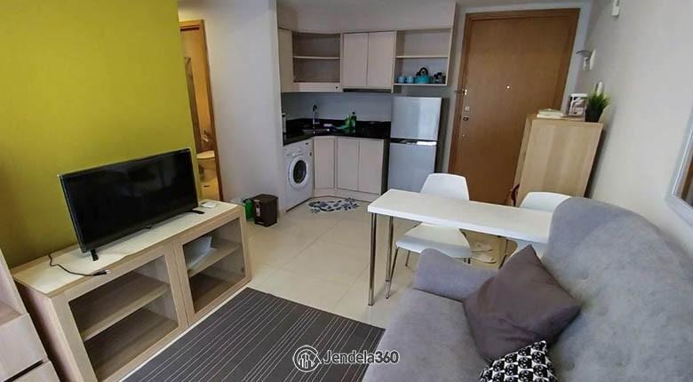 livingroom Apartemen The Mansion Kemayoran Bougenville