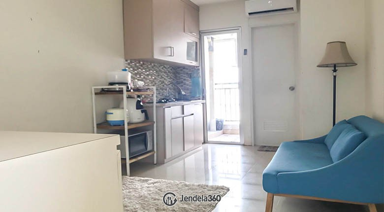 livingroom Kalibata City Green Palace Apartment