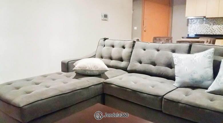 livingroom The Mansion Kemayoran Jasmine Apartment