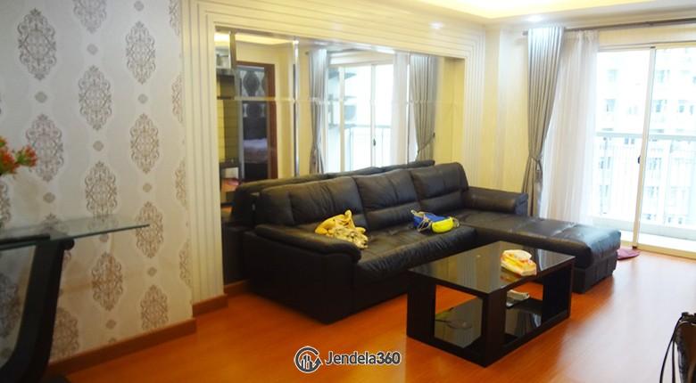 livingroom Apartemen Royal Mediterania Garden Residence