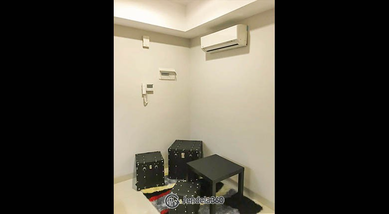 livingroom The Mansion Kemayoran Bougenville Apartment