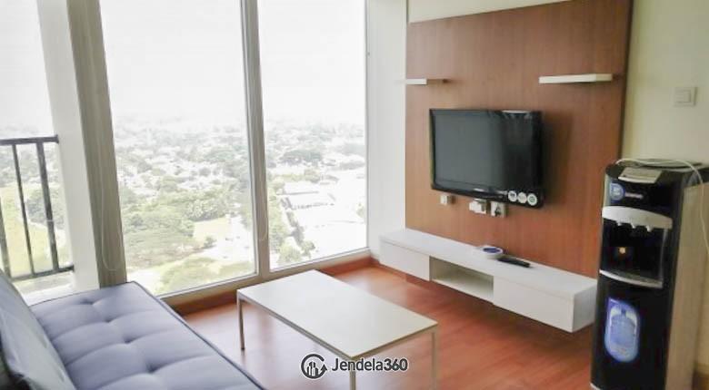 livingroom Apartemen Tree Park BSD