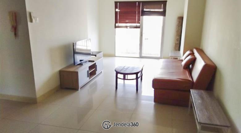 livingroom Apartemen Cosmo Mansion - Thamrin City