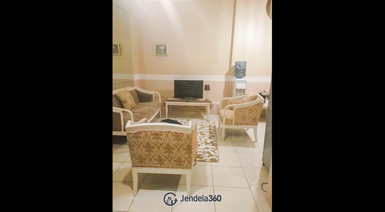 livingroom Apartemen Sudirman Park Apartment