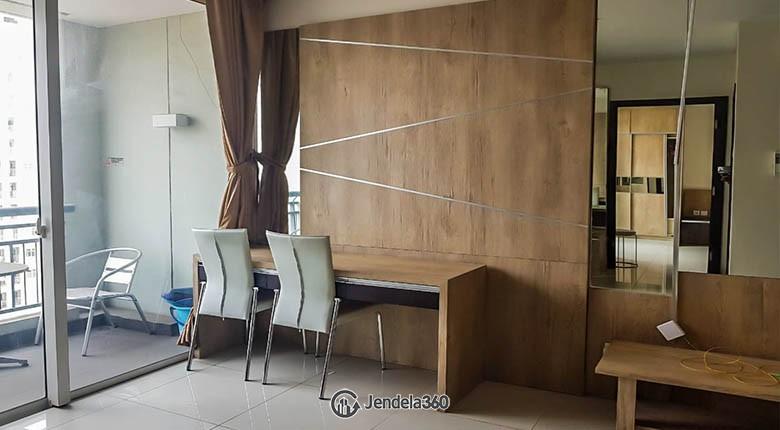 livingroom Apartemen Central Park Apartment
