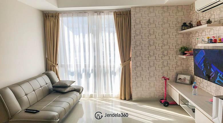livingroom The Mansion Kemayoran Bougenville